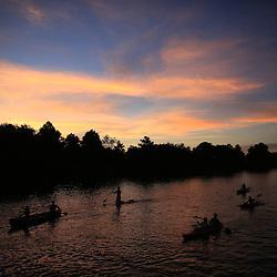 07-19-2016 Bayou Paddleboats Night Paddle