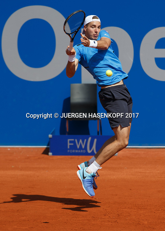 JAN-LENNARD STRUFF (GER)<br /> <br /> Tennis - BMW Open2017 -  ATP  -  MTTC Iphitos - Munich -  - Germany  - 1 May 2017.