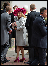 James cook mother (check ID) arriving at the wedding of Poppy Delevingne to James Cook at St.Paul's Church in Knightsbridge, London,  Friday, 16th May 2014. Picture by Andrew Parsons / i-Images