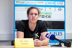 """Ema """"The Princess"""" Kozin at press conference before WBC Silver in Zagreb, on September 5, 2018 in Ljubljana, Slovenia. Photo by Urban Urbanc / Sportida"""