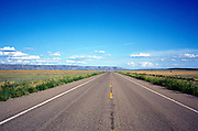 scenic view of open road