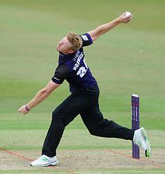 Liam Norwell of Gloucestershire - Photo mandatory by-line: Dougie Allward/JMP - Mobile: 07966 386802 - 12/07/2015 - SPORT - Cricket - Cheltenham - Cheltenham College - Natwest Blast T20