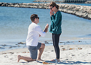 Ryan's proposal to Britt at West Dennis Beach on Cape Cod