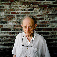 Frederick Wiseman photographed in his home in Linconville, Maine.