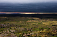 Looking down on the Frenchman River Valley from 70 Mile Butte in Grasslands National Park, Saskatchewan, Canada. © Allen McEachern.