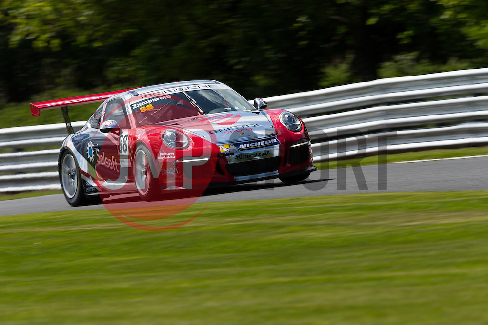 Dino Zamparelli | Bristol Sport Racing | #88 Porsche 911 GT3 Cup car | Porsche Carrera Cup GB - Photo mandatory by-line: Rogan Thomson/JMP - 07966 386802 - 06/06/2015 - SPORT - MOTORSPORT - Little Budworth, England - Oulton Park Circuit - BTCC Meeting Day 1.