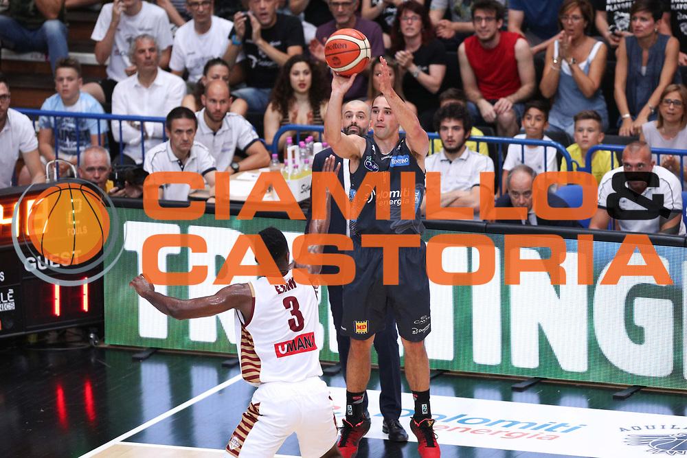 Craft Aaron, Dolomiti Energia Trentino vs Umana Reyer Venezia LBA Serie A Playoff Finale gara 6 stagione 2016/2017 Pala Trento, Trento 20 giugno 2017