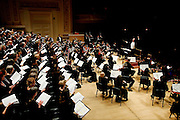 "The Oratorio Society of NY presents Mendelssohn's ""Elijah"" at Carnegie Hall  on April 27, 2011 in New York. photo by Joe Kohen for The New York Times.."