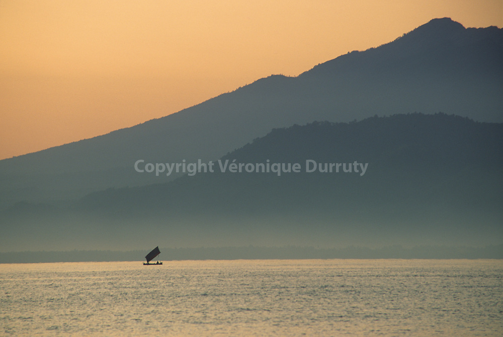 Lombok, between Bali and Nusa Tenggara