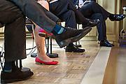 Nederland Amsterdam 22 mei 2013.<br /> Cristina Soreanu Pecequilo tijdens 'The Dwarfing of Europe?'.<br /> Foto: Jan Boeve