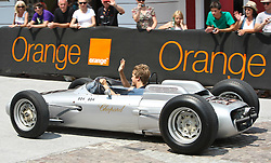 17.07.2010, Groebming, AUT, Ennstal Classic, Chopard Grand Prix Groebming, im Bild Sebastian Vettel auf einem Formel 1 Porsche aus dem Jahre 1962, EXPA Pictures © 2010, PhotoCredit: EXPA/ J. Groder / SPORTIDA PHOTO AGENCY
