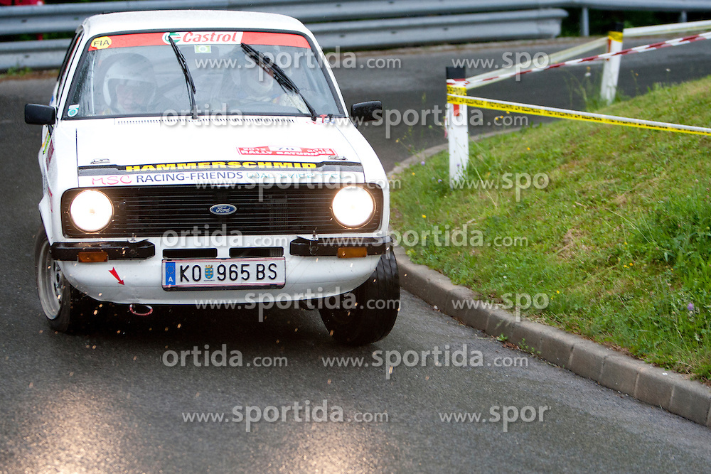Hans Wieger and Renate Wieger of AUT during 35th Rally Saturnus, on May 12, 2012, in Trbovlje, Slovenia. (Photo by Urban Urbanc / Sportida)