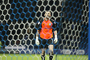 Sheffield Wednesday goalkeeper Keiren Westwood (1)  during the EFL Sky Bet Championship play off second leg match between Sheffield Wednesday and Huddersfield Town at Hillsborough, Sheffield, England on 17 May 2017. Photo by John Potts.