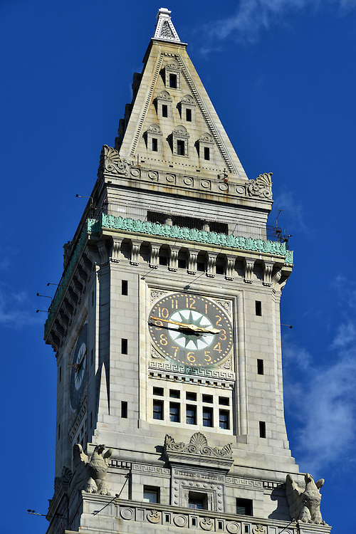 Custom House Tower in Boston, Massachusetts  <br />