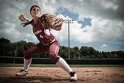 College of Charleston shortstop Lizzy Vaughn.
