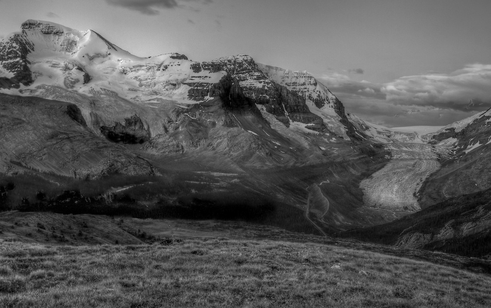 Columbia Icefields Sunrise, Jasper National, Park, Alberta, Canada