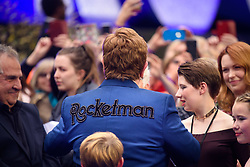 Elton John attending the Rocketman UK Premiere, at the Odeon Luxe, Leicester Square, London.Picture date: Monday May 20, 2019. Photo credit should read: Matt Crossick/Empics