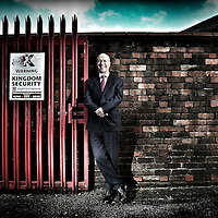 Terry Barton MD of Kingdom Security , St Helens