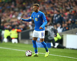 November 20, 2018 - Milton Keynes, United Kingdom - Neymar of Brazil .during Chevrolet Brazil Global Tour International Friendly between Brazil and Cameroon at Stadiummk stadium , MK Dons Football Club, England on 20 Nov 2018. (Credit Image: © Action Foto Sport/NurPhoto via ZUMA Press)