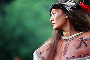 Polynesian Woman, Tahiti, French Polynesia