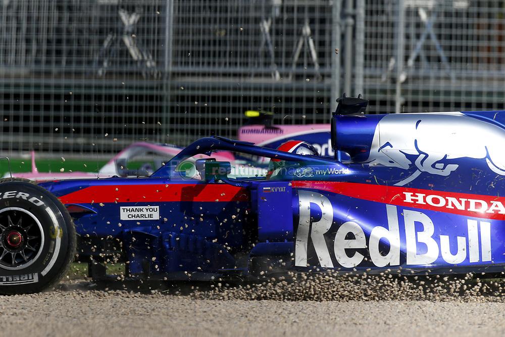 March 17, 2019 - Melbourne, Australia - Motorsports: FIA Formula One World Championship 2019, Grand Prix of Australia, ..#26 Daniil Kvyat (RUS, Red Bull Toro Rosso Honda) (Credit Image: © Hoch Zwei via ZUMA Wire)