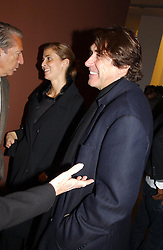 PRINCESS ROSSARIO OF BULGARIA and singer BRYAN FERRY at an exhibition of paintings by artist George Condo entitled 'Religious Paintings' held at the Spruth Magers Lee Gallery, 12 Berkeley Street, London W1 on 12th October 2004.<br />