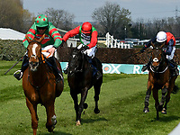 National Hunt Horse Racing - 2019 Randox Health Grand National Festival - Saturday, Day Three (Grand National Day)<br /> <br /> ist placed D N Russell on 6 Ornuain the 15.00 Doom Bar Maghull Novices' Chase (Grade 1) (Class 1) at Aintree Racecourse.<br /> <br /> COLORSPORT/WINSTON BYNORTH