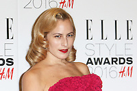 Charlotte Dellal, ELLE Style Awards 2016, Millbank London UK, 23 February 2016, Photo by Richard Goldschmidt