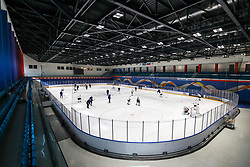 A general view during team Slovenia practice at IIHF World Championship DIV. I Group A Kazakhstan 2019, on May 4, 2019 in Barys Arena, Nur-Sultan, Kazakhstan. Photo by Matic Klansek Velej / Sportida