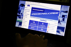 November 22, 2018 - SãO Paulo, Brazil - SÃO PAULO, SP - 22.11.2018: PROCON NA BLACK FRIDAY - The Procon Foundation in São Paulo, with a view to fraud, set up a special assistance plan to answer questions, receive complaints and denunciations during Black Friday 2018, which will take place this Friday (23) (Credit Image: © Aloisio Mauricio/Fotoarena via ZUMA Press)