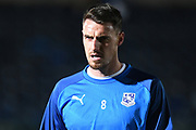 Tranmere Rovers midfielder Darren Potter (8) during the The FA Cup match between Wycombe Wanderers and Tranmere Rovers at Adams Park, High Wycombe, England on 20 November 2019.