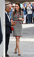 FILE: The Duchess of Cambridge - Baby Faced Knee Illusion - 3 July 2017
