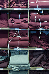 Prison clothing stores, UK prison