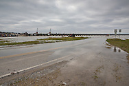 Jan. 10, 2015, Norco. Louisiana, U.S. Army Corps of Engineers workers open some of the gates of the Bonnet Carre Spillway to reduce the Mississippi's water-flow as it approaches New Orleans, directing it into Lake Pontchartrain. The Mississippi Rivers water levels were approaching flood stage as waters that flooded Missouri, are making their way to the Gulf of Mexico.