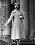 Fashions at Parnell Square, Dublin .04/02/1958