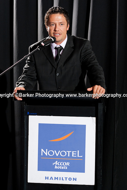 Northern Districts Cricket Awards, District Association Player of the Year Leighton Parsons, Tainui Novotel Hotel, Friday 8 April 2011, Hamilton, New Zealand.  Photo: Stephen Barker/Barker Photography/PHOTOSPORT  ©Barker Photography www.barkerphotography.co.nz