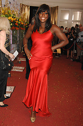 Singer MICA PARIS at the Galaxy British Book Awards 2007 - The Nibbies held at the Grosvenor house Hotel, Park Lane, London on 28th March 2007.<br />