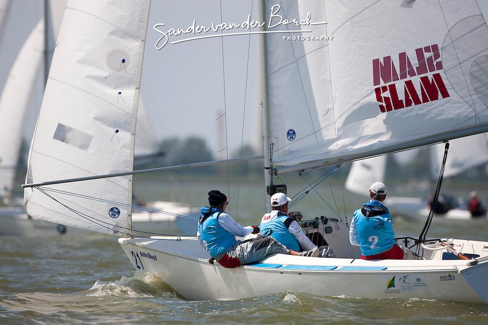 Sonar, May 25th 2012. Delta Lloyd Regatta  (22/26 May 2012). Medemblik - the Netherlands.
