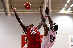 Lovell Cook of Bristol Flyers tries to catch the ball - Photo mandatory by-line: Robbie Stephenson/JMP - 17/09/2016 - BASKETBALL - SGS Wise Arena - Bristol, England - Bristol Flyers v Worcester Wolves - Exhibition Game