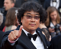 Director Bong Joon-Ho, at the closing ceremony and The Specials film gala screening at the 72nd Cannes Film Festival Saturday 25th May 2019, Cannes, France. Photo credit: Doreen Kennedy