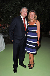 MR & MRS SIMON PHILLIPS  at a dinner hosted by Cartier in celebration of the Chelsea Flower Show held at Battersea Power Station, 188 Kirtling Street, London SW8 on 23rd May 2011.