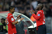 FOOTBALL - FRENCH CHAMPIONSHIP 2010/2011 - L1 - LILLE OSC v VALENCIENNES FC  - 13/03/2011 - PHOTO JULIEN CROSNIER / DPPI - JOY MOUSSA SOW (LOSC)
