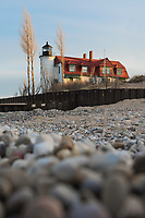 An early spring morning at Point Betsie<br /> Frankfort, Michigan