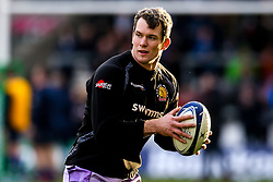 Ian Whitten of Exeter Chiefs - Mandatory by-line: Robbie Stephenson/JMP - 08/12/2019 - RUGBY - AJ Bell Stadium - Manchester, England - Sale Sharks v Exeter Chiefs - Heineken Champions Cup