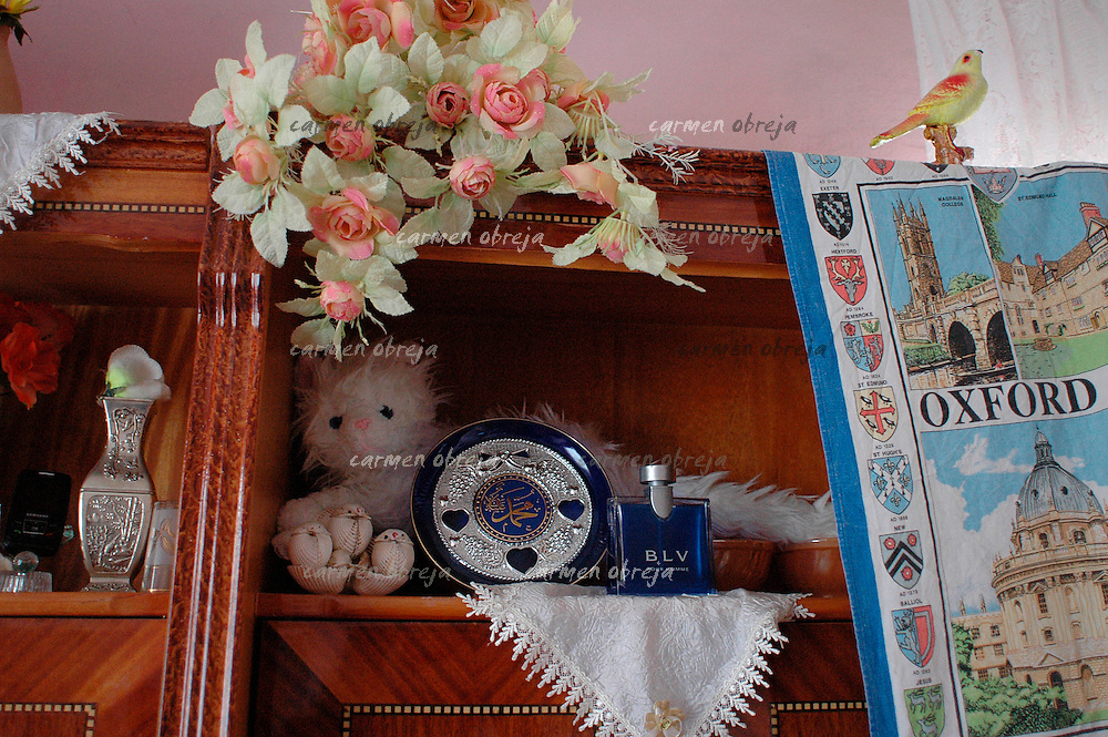 interior from a kurdish house in Diyarbakir. the owner is news correspondent in London
