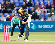 Glamorgan's Aneurin Donald<br /> <br /> Photographer Simon King/Replay Images<br /> <br /> Vitality Blast T20 - Round 14 - Glamorgan v Surrey - Friday 17th August 2018 - Sophia Gardens - Cardiff<br /> <br /> World Copyright &copy; Replay Images . All rights reserved. info@replayimages.co.uk - http://replayimages.co.uk