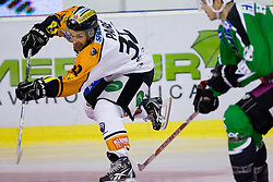 Jean Philippe Pare (Moser Medical Graz99ers, #32) during ice-hockey match between HDD Tilia Olimpija and Moser Medical Graz99ers in 10th Round of EBEL league, on October 10, 2010 at Hala Tivoli, Ljubljana, Slovenia. (Photo By Matic Klansek Velej / Sportida.com)