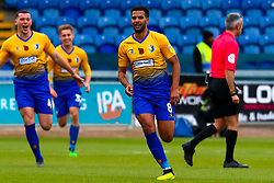Jacob Mellis of Mansfield Town celebrates his opener against Milton Keynes Dons - Mandatory by-line: Ryan Crockett/JMP - 27/10/2018 - FOOTBALL - One Call Stadium - Mansfield, England - Mansfield Town v Milton Keynes Dons - Sky Bet League Two
