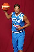 26/07/2005<br /> POSATI NAZIONALE ITALIANA MASCHILE <br /> NELLA FOTO: ALEX RIGHETTI<br /> FOTO CIAMILLO