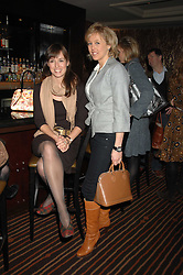 Left to right, LADY ROSE INNES-KER and LADY ALEXANDRA SPENCER-CHURCHILL at a lunch hosted by Ralph Lauren to present their Spring 2007 collection in support of the Serpentine Gallery's Education Programme, held at Fifty, 50 St.James's Street, London SW1 on 20th March 2007.<br />